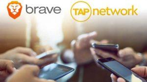 Brave And TAP;yeni Blockchain Faydaları ve Ortaklık hakkında  bilgi