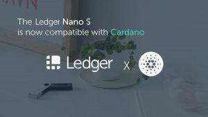 Cardano (Ada) Artık Ledger Nano'da