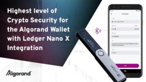 Crypto Mobile Cüzdan Algorand, Ledger Nano X ile Entegrasyonu Duyurdu