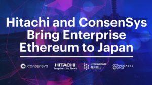 Hitachi, Consensy ile İş Birliğine Gitti