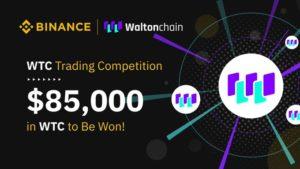 Walton Chain ve Binance'den 85.000 Dolar Ödüllü Yarışma