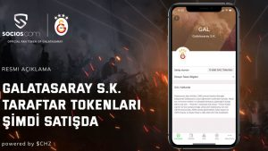 Galatasaray Coin Fan Token Borsa'da