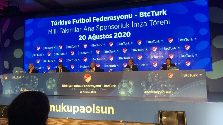 BtcTürk'ten Müthiş Hamle Türkiye Futbol Federasyonu İle Sponsorluk Antlaşması Yapıldı